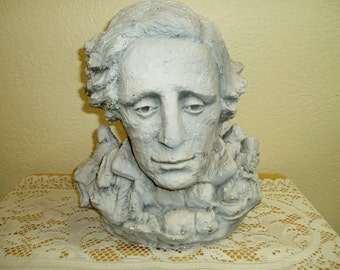 Tunison Bust of Lewis Carroll