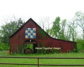 5 x 7 Photograph - Tennessee Barn Quilt