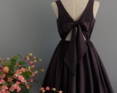 A Party V - Lolita Dress Sweet Lolita Backless Dress Charcoal Gray Bridesmaid Dress Dark Gray Party Dress Gray Summer Dress XS-XL