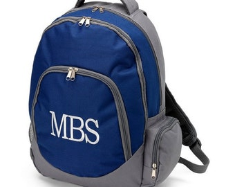 Personalized backpack Brody monogrammed, or blank Backpack for Boys