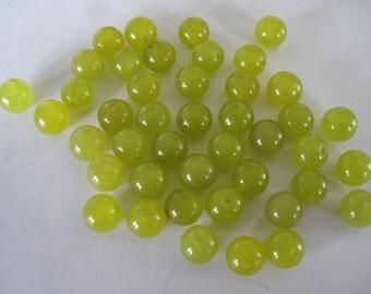 Jade Bead Destash-8mm
