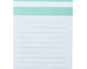 Personalized Magnetic Notepad - Mint