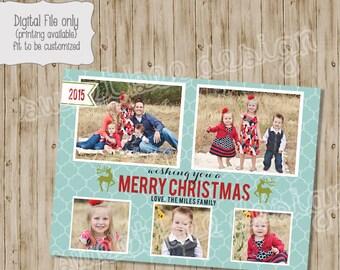 Christmas Photo Card- Holiday Photo Card - Christmas Card - Holiday Card - Christmas Photo - Holiday Photo -