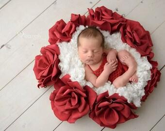 Shiloh Newborn Knit Romper PDF PATTERN