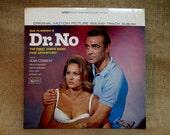 DR. NO - Original Motion Picture Soundtrack - 1962 Vintage Vinyl Record Album