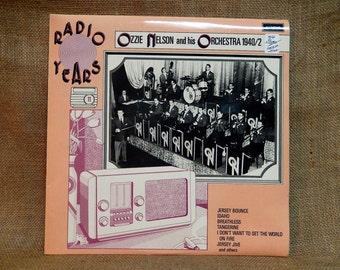 OZZIE NELSON and His Orchestra - Radio Years 1940/42 - Vintage Vinyl Record Album