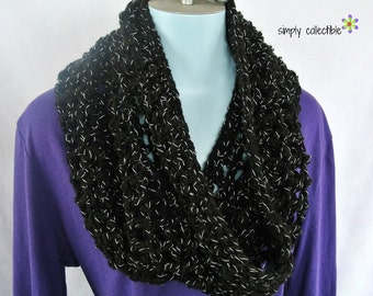 Crochet Pattern - Coraline on Times Square Cowl Crochet Pattern - Written Pattern PDF