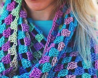 Lily's Sweetheart Cowl crochet pattern pdf