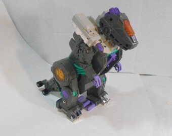 Walking Transformers G1 Trypticon T-rex Decepticon Loose No Accessories Hasbro Takara 1986