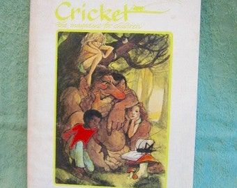 Cricket Magazine for Kids Vol. 1 Number 1 January 1973