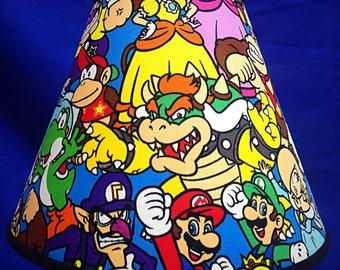 Mario Brothers Nintendo Lamp Shade