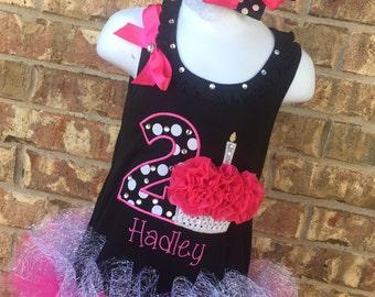 1st Birthday Girl Outfit - Birthday Dress - Personalized Birthday Dress - 1st Birthday Dress - 2nd Birthday Dress - Cake Smash