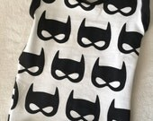 Batman Tank Top shirt unisex Girls Boys Baby Toddler kids 3 6 9 12 18 24 months 2T 3T 4T 5T 6 black and white sleeveless top Bats Bat Mask