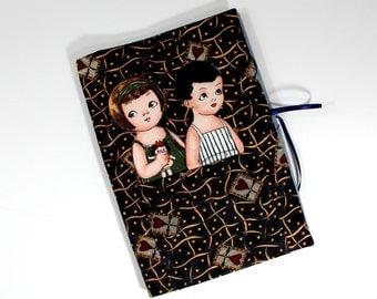Fabric Paper Dolls  Soft Book  Quiet Travel Classic Children's Toys