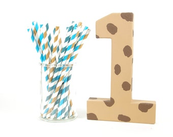 Cookie Monster Number 1 - Birthday Party Decor - Big Number for Birthday Party