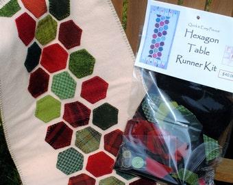 Hexagon Wool Table Runner Kit