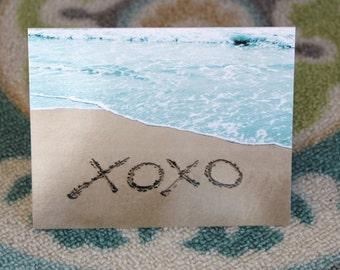 XOXO Notecard