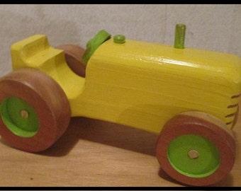 Iittle yellow tractor