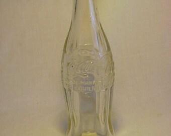 1957 Coca Cola The Coca Cola Company of Canada ,  Embossed Crown Top Coke Soda Bottle