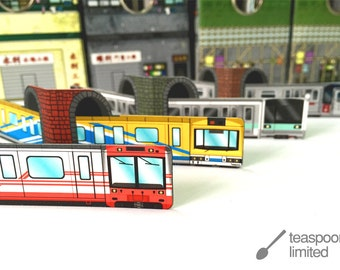 MiNi City Railway Bookmarks
