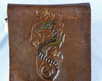 Sea Horse Vertical Messenger Bag
