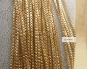 promotion season-20 FEET  fabulous raw solid brass thin box chain-brass chain-F1683