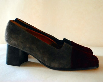 Vintage Suede Lord and Taylor Pumps Size 8
