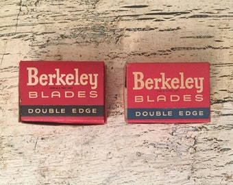 Over 120 Vintage Double Edge Razor Blades - New Old Stock - Safety Razor Blades