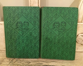 2 Vintage Bobbsey Twins Books from 1928 -1943 Instant Library