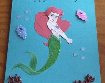 Ariel Birthday card