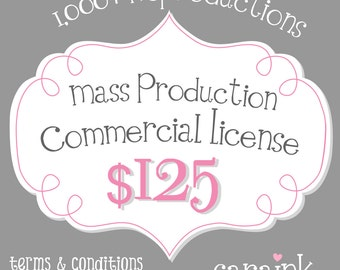 Mass Production License for Large Scale Commercial Use