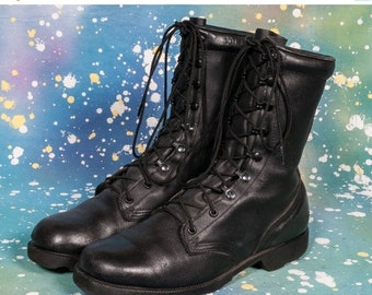 30% OFF Black COMBAT BOOT Men's Size 10 R