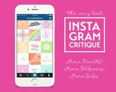 Instagram Critique | Instagram Coaching | Instagram Review | Social Media Coaching Call | Instagram Help | Social Media Coaching