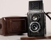 Old Lomo Lubitel 2 Soviet Voïgtlander Brilliant copy Vintage TLR Camera USSR
