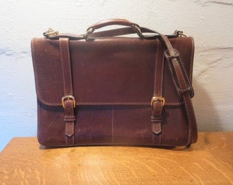 Leather briefcase, mens briefcase, leather satchel, laptop, messenger bag, leather crossbody, leather suitcase, shoulder bag