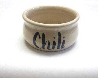Stoneware Chili Bowl Soup Cup Mug