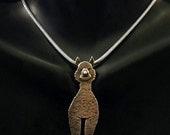 Sterling Silver Alpaca Necklace - Albi
