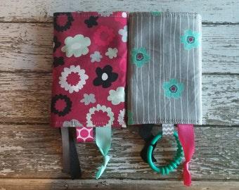 FlowerFall Poppy Drool Pads