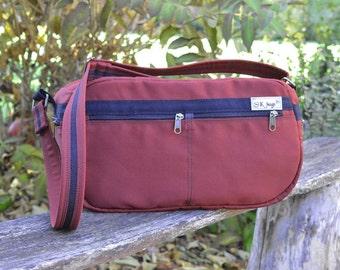 Unisex Camera bag, Zipper Canvas Airline bag, Messenger Cross Body, Gym bag, Overnight bag, Workout bag, gift for husband, American size