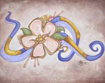Octopus Blossom