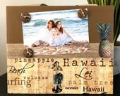 Vintage Aloha Hawaii Travel Magnetic Frame