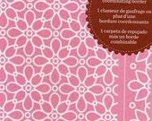 "Cuttlebug Embossing Folder & Border JULI'S GARDEN 4.25"" x 5.75 "" A2 New in Package floral botanical Cricut Provo Craft"