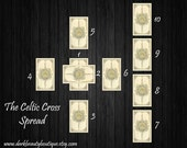 10 Card Celtic Cross Tarot Reading  - Life Direction and Exploration - Intuitive Tarot Reader - email/PDF