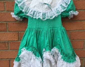 Lid'l Dolly's Hand Crafted Smokey Mountains Of Tennessee size 6 Southern Belle Pageant Special Occasion Dress