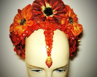 Autumn Tika Headdress