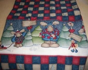 Daisy Kingdom Northwoods Border Cotton Fabric