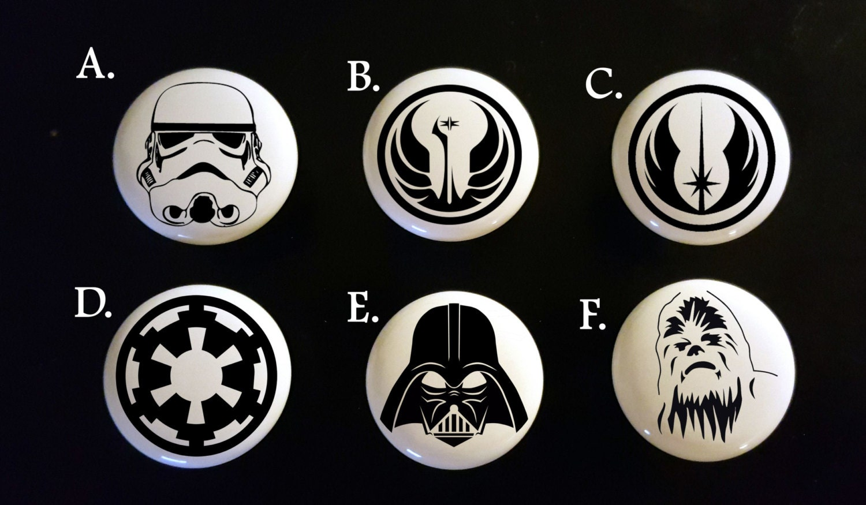Star Wars Cabinet Unique Cabinet Knobs Etsy