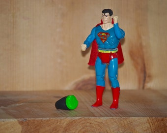 RARE 8GB USB Superman flash drive 1989 Vintage Rare Kenner action figure with cape kryptonite ring memory superhero superpowers super powers