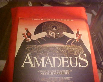 Amadeus Original Mozart soundtrack LP vintage 1984 wam 1791 Mint