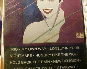 Duran Duran  Rio Cassette  Near Mint
